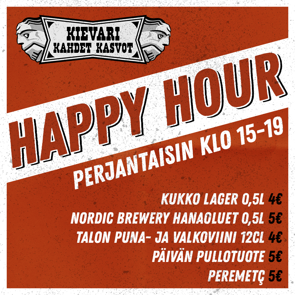 Happy Hour Tampere