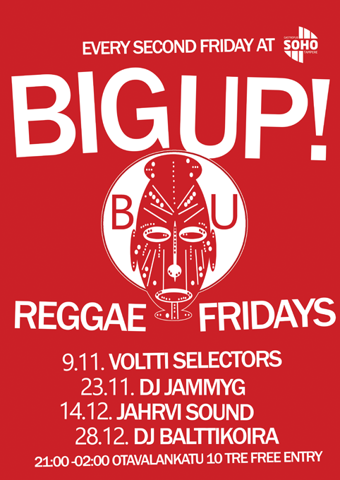 Big Up! Reggae Fridays