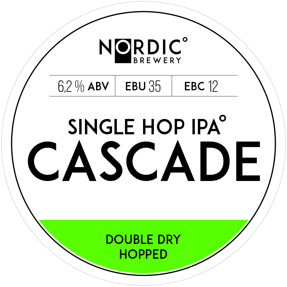 Single Hop IPA Cascade